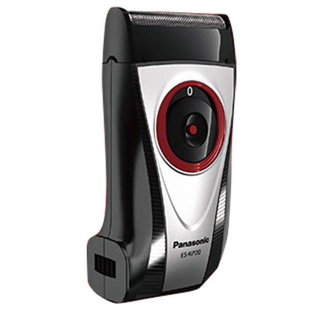 Panasonic ES-RP20 rasoir électrique portable rechargeable avec interrupteur coulissant tête de coupe flottante rasoir homme prise intégrée