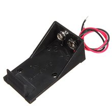 MAHA Scorching DC 9V Battery Help Field Connector Coupler with Battery Holder Conductive thread