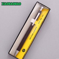 High End Business 0 5 Mm Metal Gel Pen 2 Colors Office School Stationery Pen