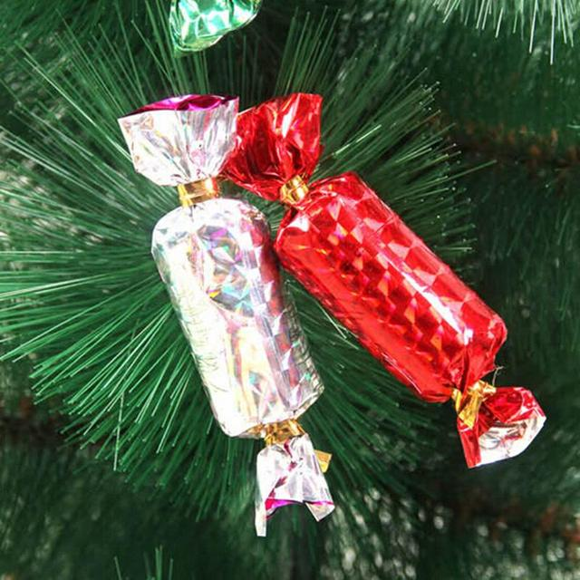 12pcsbag hot sale christmas candy ornament for christmas tree celebration party wedding birthday xmas - Candy Christmas Tree