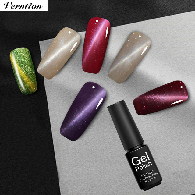 Verntion gel paint nail design tool manicure magnetic 3d cat eye verntion gel paint nail design tool manicure magnetic 3d cat eye nail gel quality soak off prinsesfo Image collections