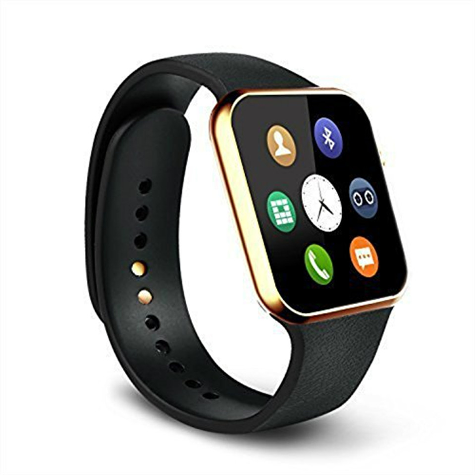 ФОТО New Smartwatch A9 Bluetooth Smart watch for Apple iPhone & Samsung Android Phone reloj smartphone watch 2016