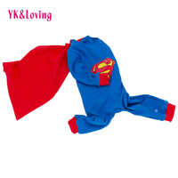 Superman Kids Cosplay Costume Baby Boy Clothing Warm Autumn Winter Clothing 2018 New Style Cheap Christmas