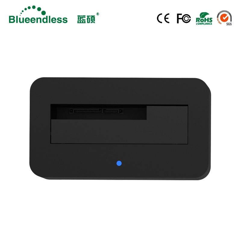 1-baie USB 3.0 à SATA3 jusqu'à 6 to Hdd Station d'accueil soutien 2.5 ''3.5'' pouces HDD avec 5 Gbps haute vitesse DC12V/2A alimentation - 3