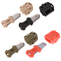 Molle EDC Gear Mini Beetle Multifunction Stainless Steel Knife Outdoor Camping Survival Pocket Tools Webbing Buckle