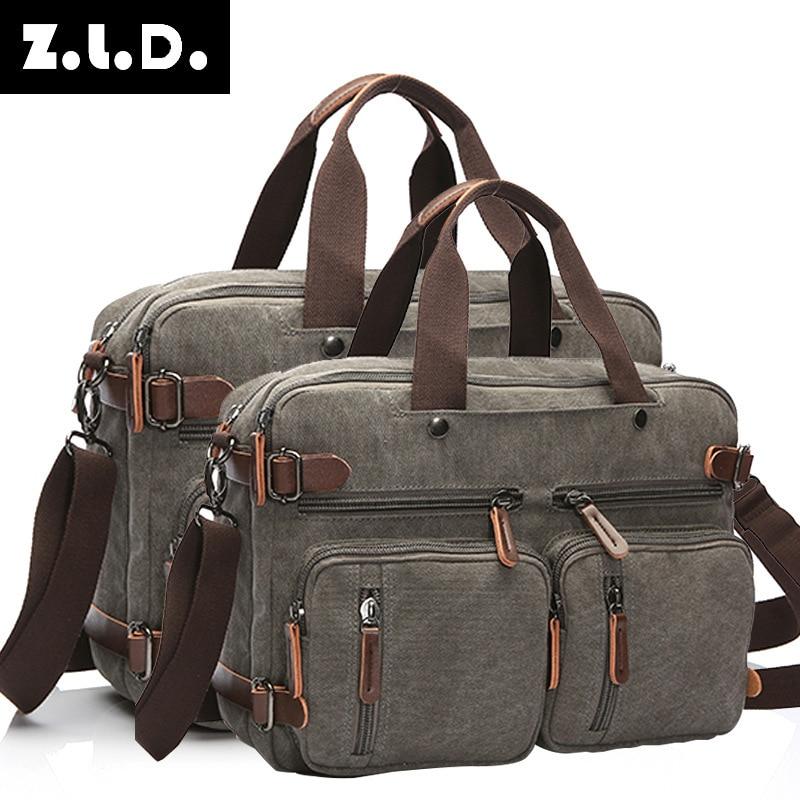 2019 Mode Männer Vintage Leinwand Taschen Reise Und Business Taschen Männlichen Lugguage Taschen 8691-64