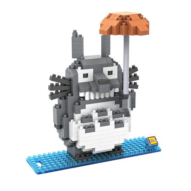Totoro Building Blocks Toy