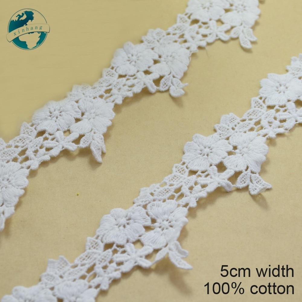 "1 Metre x 40mm//1.5/""  Satin Finish Flower Guipure Lace Trim *FREE 1ST CLASS*"