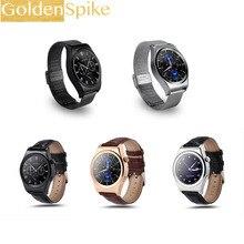 """GoldenSpike Smartwatch Relógio Wearable Dispositivos X10 1.30 """"polegadas OGS Tela 128 M + 64 M Do Bluetooth Android Eletrônica Inteligente relógios"""