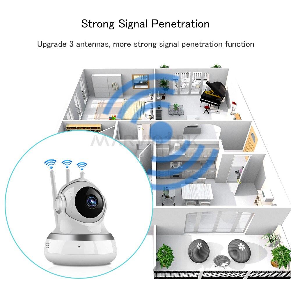 1080P WIFI IP Kamera Wireless Video Überwachung Home Security Mini Auto tracking Kamera HD Baby Monitor wifi CCTV Kamera p2P IR