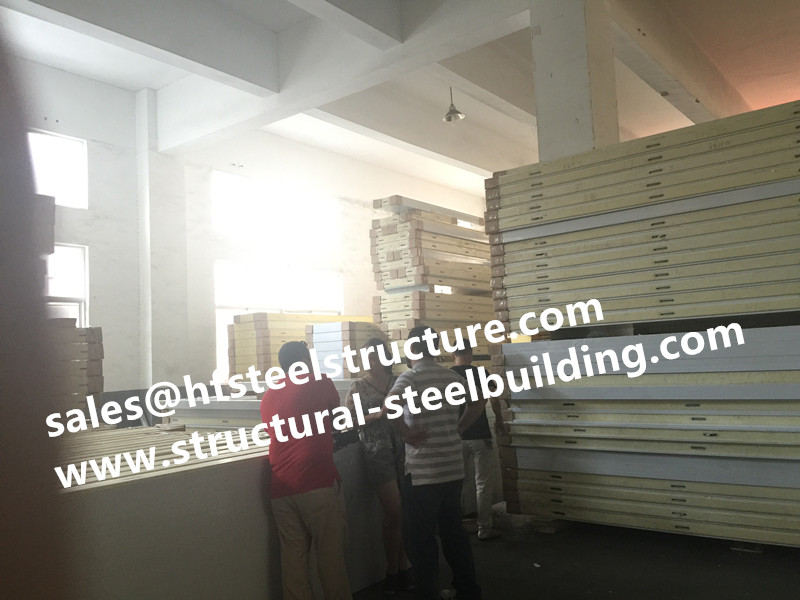 Galvanized Steel PU Sandwich Panel For Freezer Room