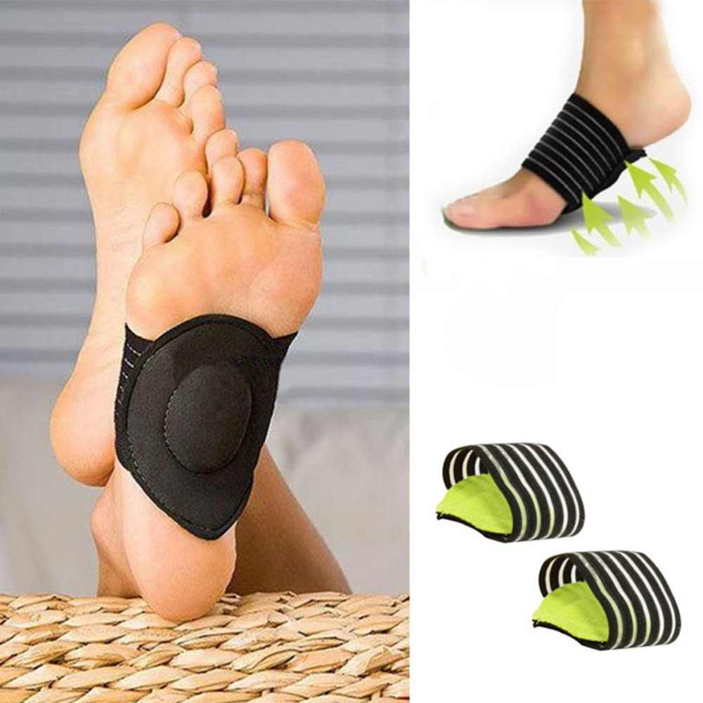 1Pair Feet Heel Pain Relief Plantar Fasciitis Insole Run-up Pad Feet Soles Care Cushioned Shoes Insert Foot Arch Support Insoles