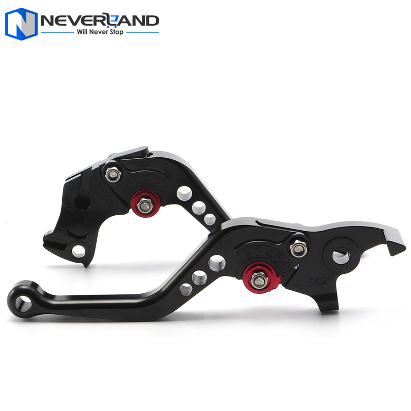 NEVERLAND CNC Adjuster Brake Clutch Levers For KTM 200 390 Duke RC125 RC200 RC390 RC 125 200 390 2014 2015 Motorcycle for ktm rc390 rc200 rc125 125 duke high quality motorcycle cnc foldable extending brake clutch levers folding extendable lever