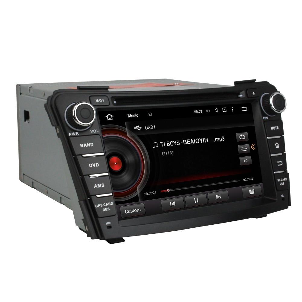 Android 7.1 voiture dvd GPS pour HYUNDAI I40 2011-2014 RADIO gps wifi dvr miroir lien 3G LECTEUR LIVRAISON CARTE ET CAMÉRA