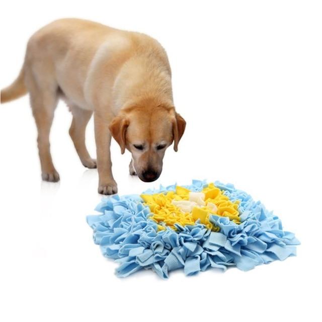 Creative Flower Bouquet Shape Pet Dog Nose Work Mat Sniff Pads ...