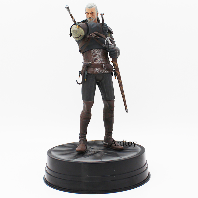 3 Wild Hunt Geralt Of Rivia PVC Action Collective Figure Model Toy With Retail Box 20.5cm