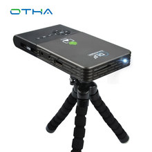 Мини-проектор, Wi-Fi DLP проектор Full HD proyector Встроенный 5000 мАч аккумулятор bluetooth проектор HDMI/USB театр projetor