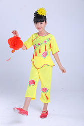 Yangko для танцев на заказ Китайский народный танец Детская барабан с поясным ремнем Выступления девушка китайский узел древняя китайский