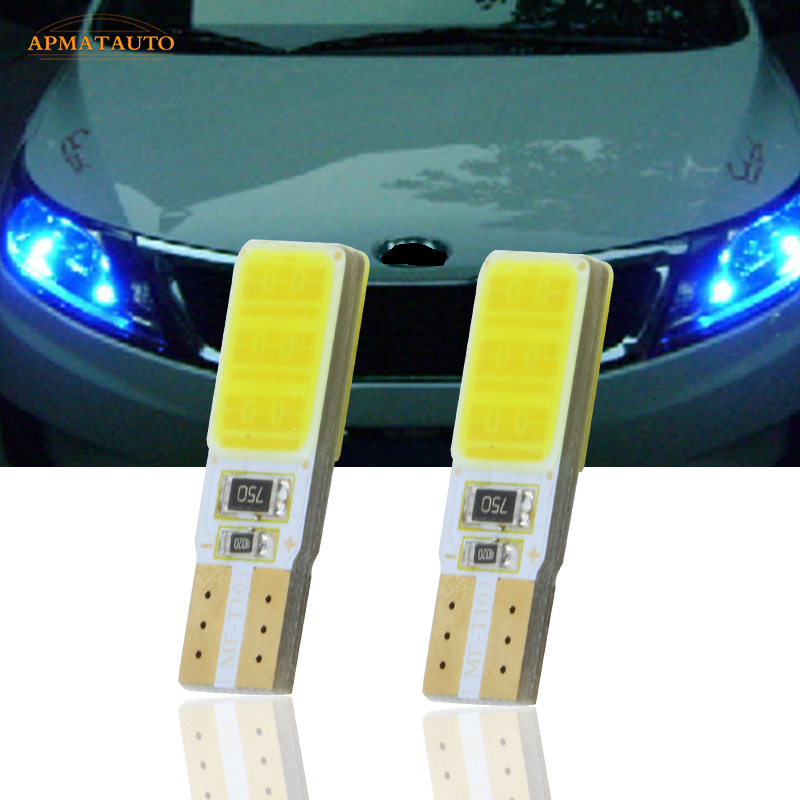2x T10 W5W LED Side Parking Lights Marker Lamps Bulb For Kia Rio K2 Ceed K3 K5 RIO FORTE SPORTAGE CERATO CARENS SORENTO image