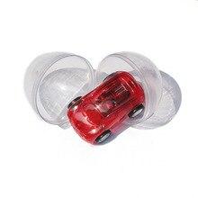 透明卵ボールのおもちゃプルバック車子供おかしい車のモデルのおもちゃ子供のおもちゃ車