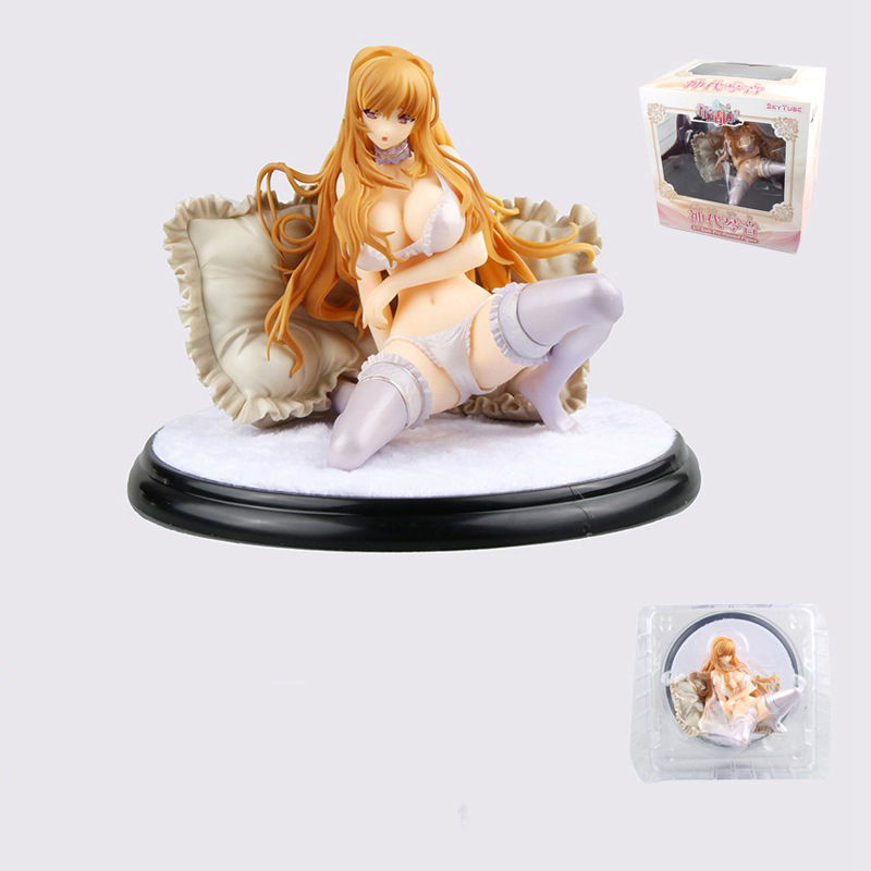 Sexy Skytube Kamishiro Kotone Anime Action Figure 15cm sexy girl PVC Collection Model Doll toys for christmas gift brand new 1 6 scale sexy girl big breast bikini blonde 12 pvc sexy women action figure model toy for collection gift