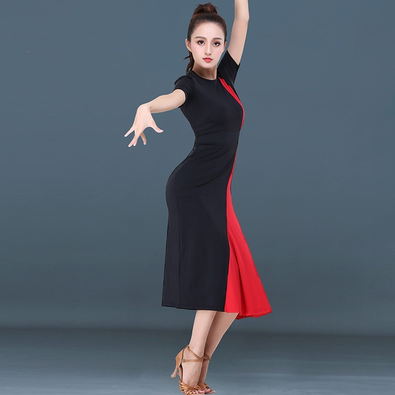 Latin dance dress women tango dress for dance rumba salsa latin dance dress stage dance wear clothing samba costume DD1451