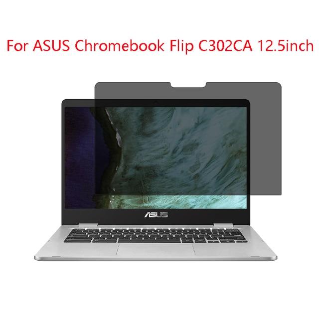 Para ASUS Chromebook Flip C302CA pantalla de ordenador portátil Protector  privacidad Anti Blu ray protección efectiva visión