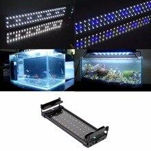 1 pc ZJL-40 Underwater Aquarium Fish Tank Fishbowl Lighting Waterproof SMD 6W 28 CM LED Light Lamp AC100-240V EU Plug Pet Tools