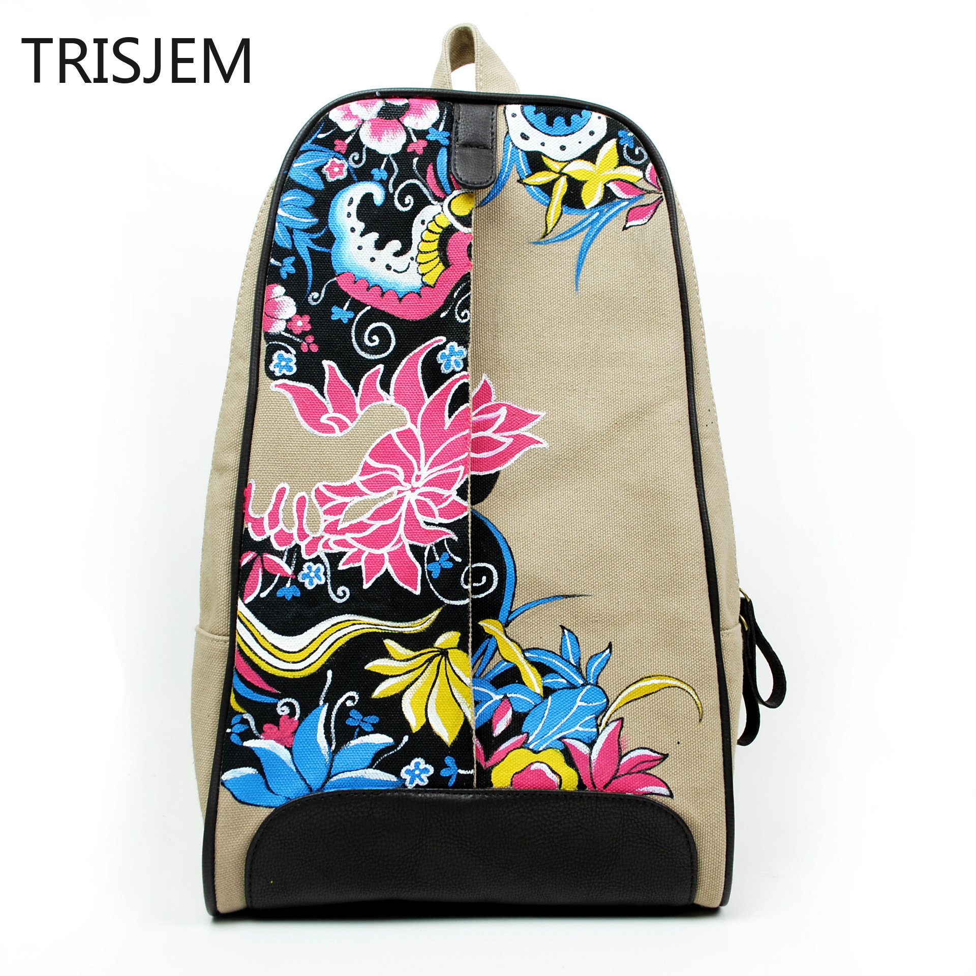 Top Quality Canvas Women Backpack Casual College Bookbag Female Retro Stylish Daily Travel Laptop Backpacks Bag high quality retro style men backpack multifunction casual travel canvas backpacks daily rucksack cotton canvas backpack