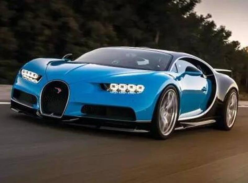New Lepin 20086 Technic Series Bugatti Supercar Racing Blue Chiron Building Blocks Bricks Toy Compatible 42083 Children Gift