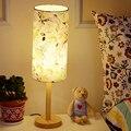 Moderne Nacht Schlafzimmer Holz Tisch Lampe Licht AC 110 V/220 V Europäischen stil Kreative Persönlichkeit DIY Tisch licht Für Wohnzimmer|Schreibtischlampen|   -