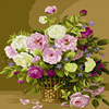 Frameless Picture Painting By Numbers Modern Flower Home Decor For Living Room Hand Unique Gifts Europe