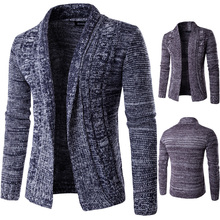 Korean winter font b Sweater b font coat jacket male clothes yong man fashion Casual style
