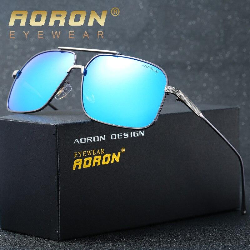 Hot Sale Frete Grátis Aviator Polarized Óculos De Sol Espelhado Lente  Reflexiva óculos de sol Uv400 Protegido Com Caixa de Presente b6b675014a