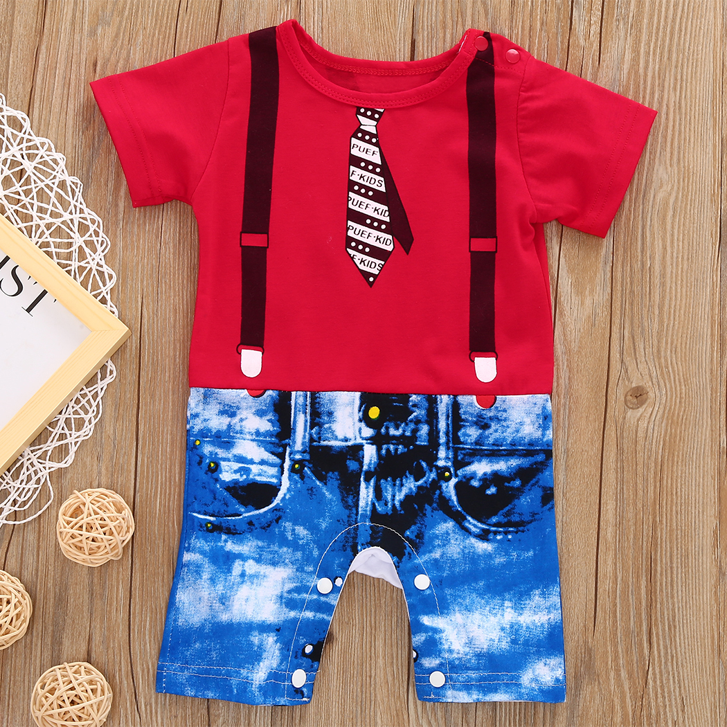 2017 Toddler Kids Newborn Baby Boys Infant T-shirt and pant Clothes tank tops sun-top Outfits Baby Clothes fashion