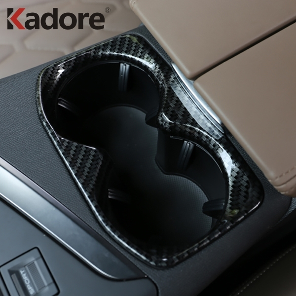 For Peugeot 3008 GT 2016 2017 2018 Front Cup Holder Cover Trim Water Bottle Orgaizer Placement Car Interior Accessories
