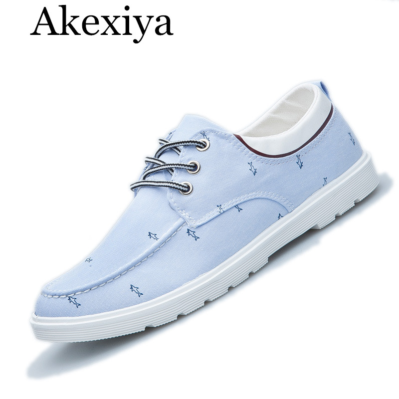 Akexiya Men Casual Summer Canvas Flat Walking Shoes Zapatillas Hombre Sapato Masculino Chaussure Homme Trainers Unisex