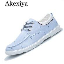 Akexiya hombres casual zapatos de lona de verano plana zapatos para caminar zapatillas hombre chaussure homme de deporte unisex zapatos sapato masculino