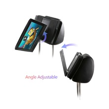 Portable DVD Player headrest Mount for Swivel and flip Style from 7 to 11 inch / Headrest Holder