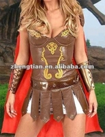 Free shipping ZY305 2014 new design sexy Warrior Princess Costume women halloween costume party dress size s 3xl