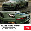1 52x00m Roll Army Green Matt Vinyl Wrap Car Wrap With Air Bubble Free Army