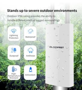 Image 2 - Comfast 300Mbps 1200Mbps 무선 Wifi 중계기 옥외 2.4 & 5.8Ghz 고성능 옥외 방수 증량제 Wifi 대패 안테나 AP