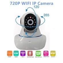 Радионяня P2P 720 P HD PTZ Ночного Видения SD Карты CCTV Камеры Безопасности