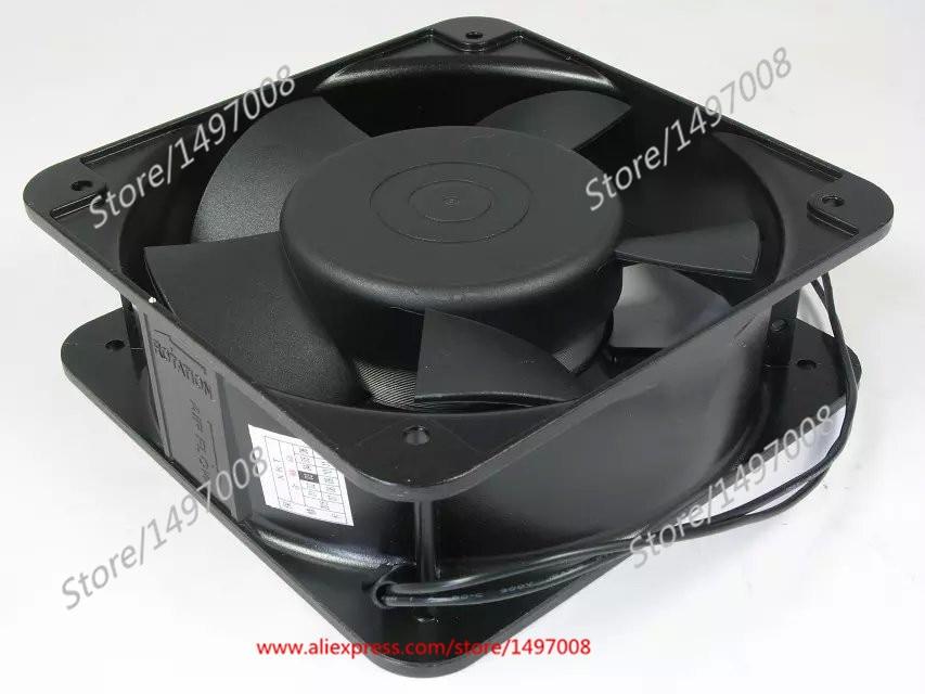 Emacro  MING QUAN MQ15050HBL AC 380V 0.12A  150mm 150X150X50mm Server Square  fan emacro for quan feng qa18060hbl2 server square cooling fan ac 220v 0 35a 180x180x60mm 2 wire