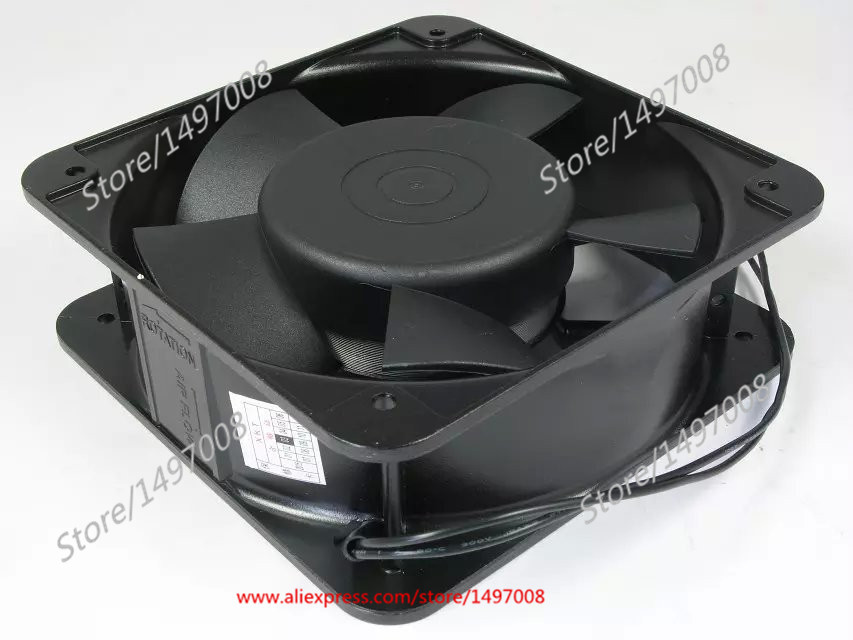 Free Shipping For MING QUAN MQ15050HBL AC 380V 0.12A 2-wire 150mm 150X150X50mm Server Square Cooling fan