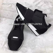 Hot Quality Lace Up Low Top Slip-on Men Trainers flats Casual Breathable Mesh Couples