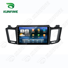 Quad Core 1024*600 Android 5.1 Car DVD GPS Navigation Player Car Stereo for Toyota RAV4 2013 Deckless Bluetooth Wifi/3G
