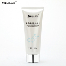 Batloru Amino Acid Facial Cleanser Anti Acne Pimples Deep Cleansing Pores to Blackhead Moisturizing Oil Control Cleaner