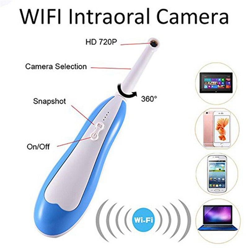 WiFi HD Endoscope intra-oral caméra dentaire sans fil Inspection de surveillance de lumière LED pour dentiste Oral en temps réel vidéo outils dentaires - 5