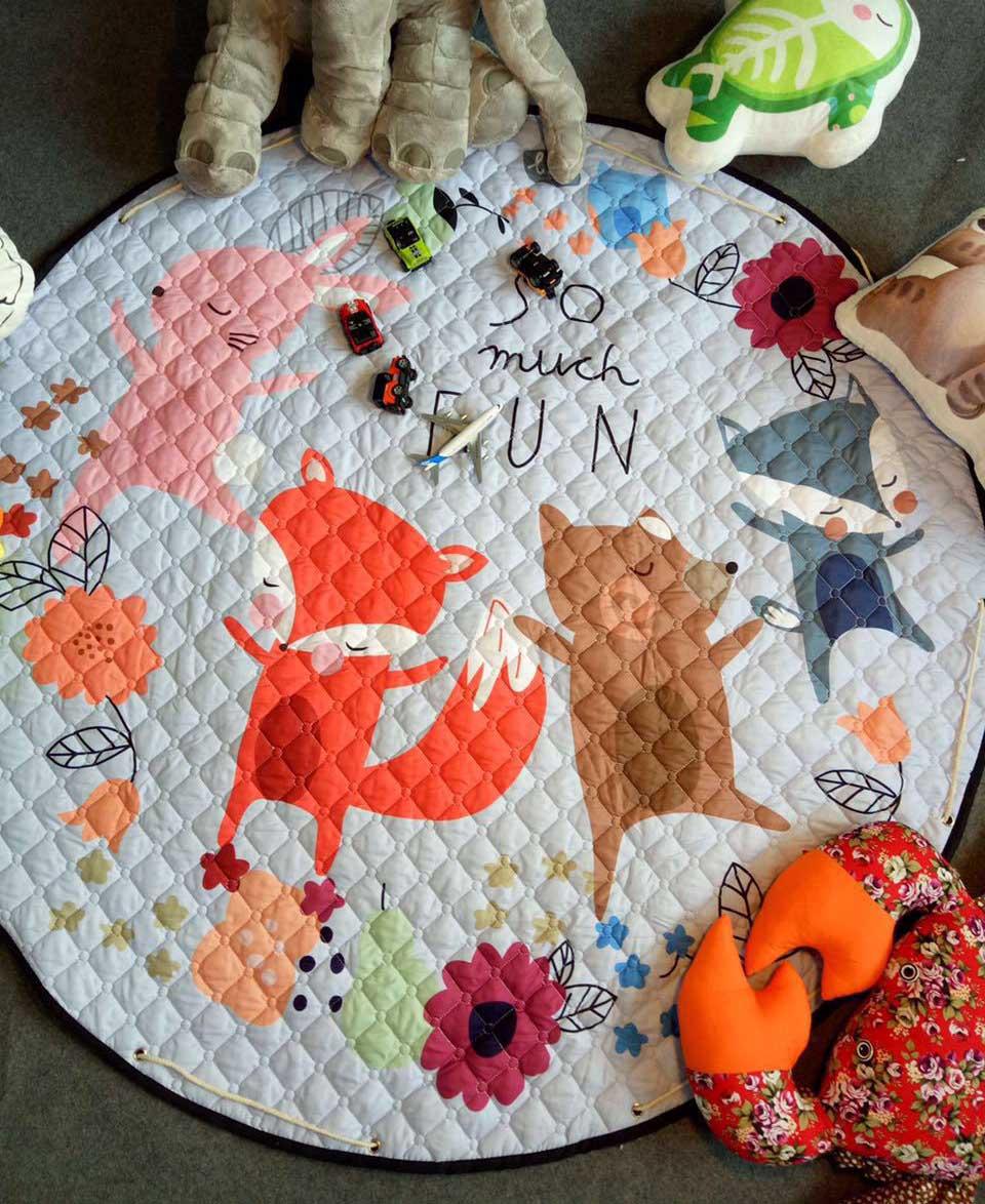 Çocuklar için kilim-bulmaca: oyun yoluyla gelişme